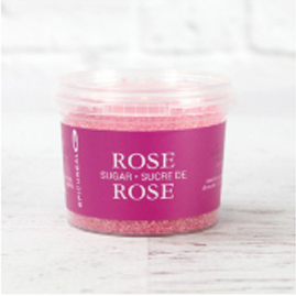 Rose Flavoured Sugar 100G Epicureal